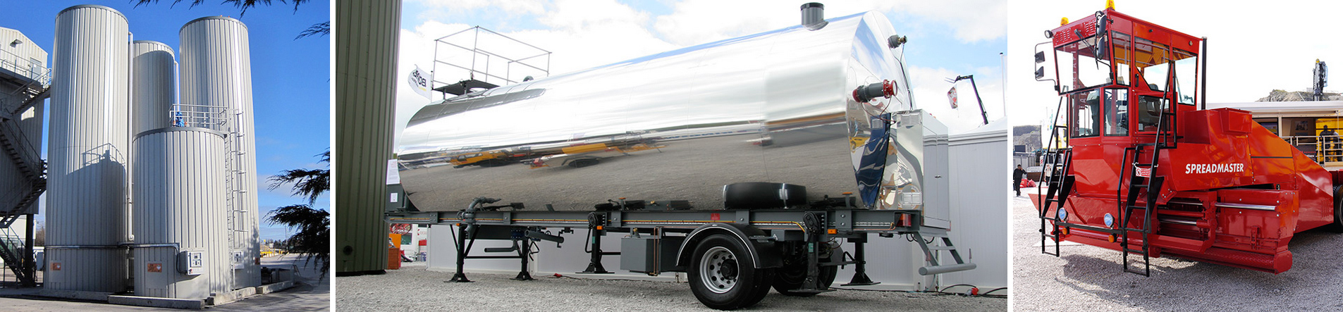 cartem bitumen tanks and chip spreader