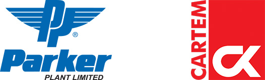 cartem and parker plant logos